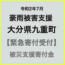 【ふるさと納税】【令和2年7月 豪雨災害支援緊急寄附受付】大分県九重町災害応援寄附金(返礼品はありません)