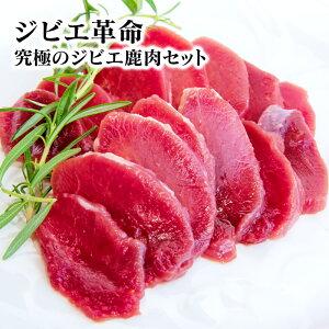 【ふるさと納税】ジビエ革命〜究極のジビエ 鹿肉セット