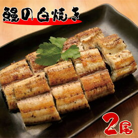 【ふるさと納税】北川鰻の白焼き(2匹)