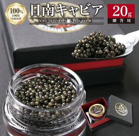 【ふるさと納税】日南CAVIAR「キャビア」(20g)