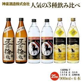 【ふるさと納税】神楽酒造 3種の飲み比べセット