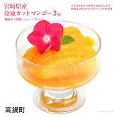宮崎県産冷凍カットマンゴー1kg