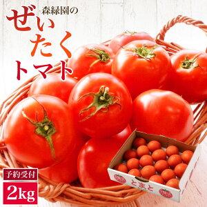 【ふるさと納税】<予約受付> 新鮮 ぜいたくトマト 2kg 国産 野菜 数量限定 2019年12月〜4月までに順次発送予定 送料無料 濃厚 完熟 甘い