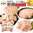 【ふるさと納税】宮崎県産若鶏セット7kg今だけ増量!鶏肉鳥肉もも肉2kgむね肉4kgささみ1kg送料無料