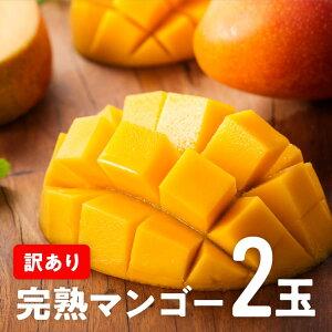 【ふるさと納税】訳あり完熟マンゴー2玉(令和3年発送)