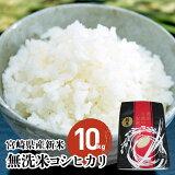 【ふるさと納税】有機肥料で美味しさ倍増!宮崎県産新米コシヒカリ(無洗米)