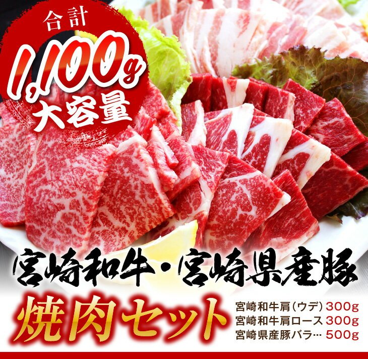 【ふるさと納税】宮崎和牛・宮崎県産豚 焼肉セット