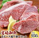 【ふるさと納税】☆宮崎和牛☆ステーキ食べ比べセット