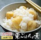 【ふるさと納税】九州産栗ごはんの素(2合用×4袋)都農町加工品