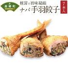 【ふるさと納税】ナバ手羽餃子(7本)餃子椎茸しいたけどんこ鶏肉餃子送料無料