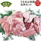 【ふるさと納税】うなま山地鶏生肉セット約2.2kg宮崎県産地鶏1匹分もも肉ムネ肉ササミ手羽心臓肝臓砂ズリ鶏ガラ