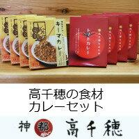 【ふるさと納税】C-13 高千穂の食材カレーセット