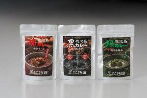 【ふるさと納税】【カレーテリア沙羅】鹿児島 赤・黒・緑カレー