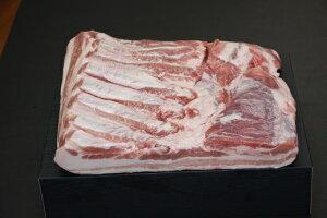 【ふるさと納税】鹿児島県産黒豚 バラブロック 2kg