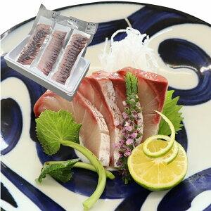 【ふるさと納税】冷凍ぶり刺身(18枚入り270g程度/パック、3パックセット)