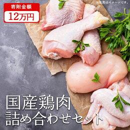 【ふるさと納税】鶏肉半端ないって!豪華10万円セット