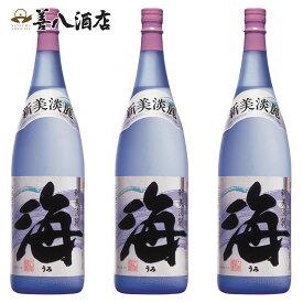 【ふるさと納税】大海酒造 海1800ml×3本セット