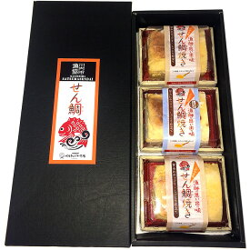 【ふるさと納税】鯛を使用した保存料無添加のせん鯛焼きギフトセット(こが焼き)