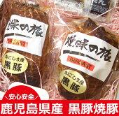 【ふるさと納税】鹿児島県産黒豚焼豚【薩摩ファームブロスト】