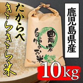 【ふるさと納税】たからべきらきら米(10kg)【道の駅たからべきらら館】