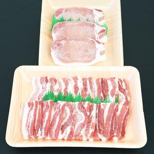 【ふるさと納税】【ブランド黒豚】かごしま黒豚 600g とんかつ用 & 焼肉用