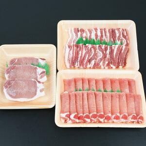 【ふるさと納税】【ブランド黒豚】かごしま黒豚 1kg バラエティセット