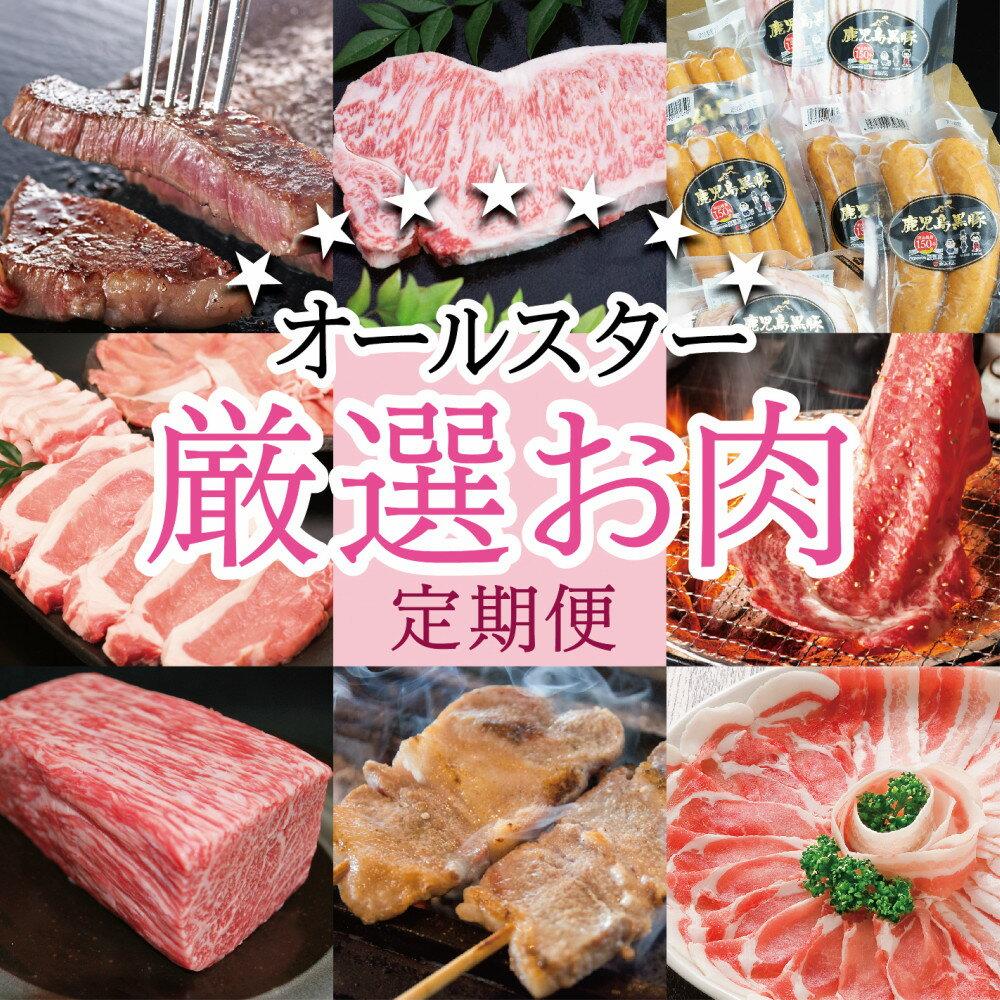【ふるさと納税】■オールスター厳選お肉定期便
