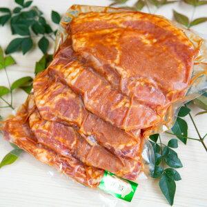 □【ふるさと納税】【鹿児島県産】厚切り黒豚の味噌漬け 500g