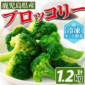 【ふるさと納税】【数量限定】国産冷凍ブロッコリー200g×6袋(1.2kg)手作業で食べやすい大きさにカットした鹿児島県産冷凍野菜!料理に使いやすいカット野菜【セビア】a0-117