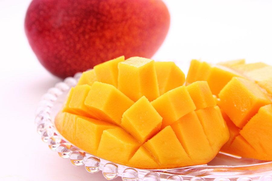 【ふるさと納税】奄美の完熟マンゴ−約1kg