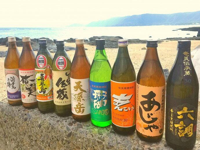 【ふるさと納税】奄美黒糖焼酎30度選べるセット