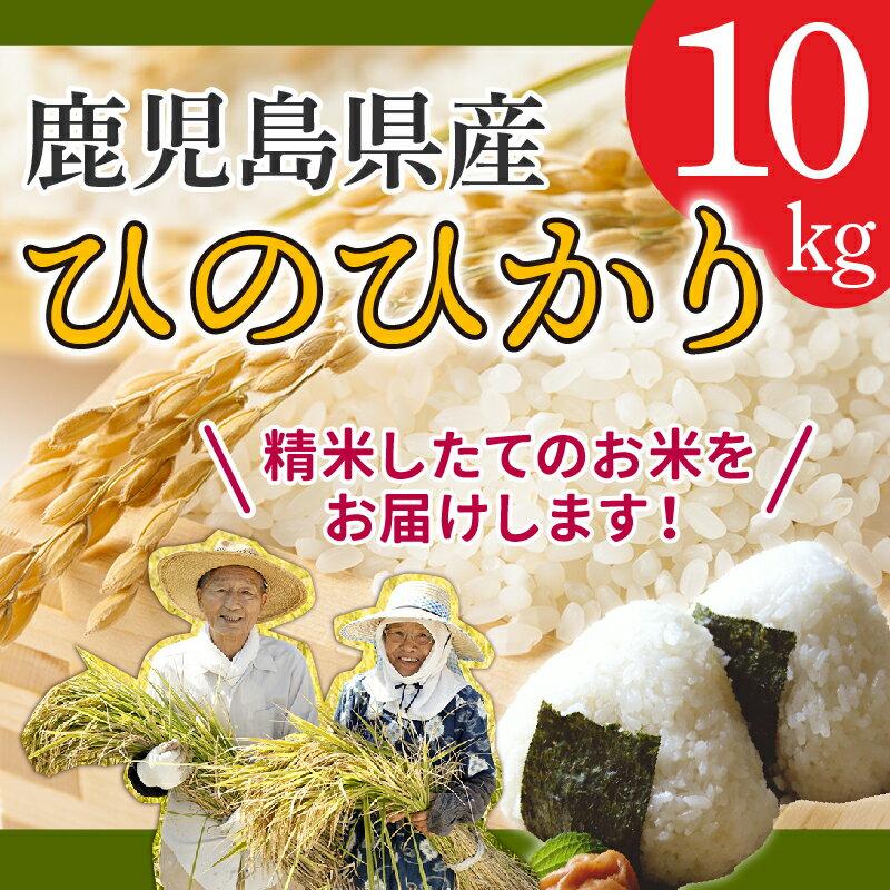 【ふるさと納税】鹿児島県南九州市産ひのひかり10kg!