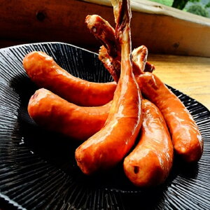 【ふるさと納税】沖田黒豚骨付きフランクフルトソーセージどんと!1.5kg