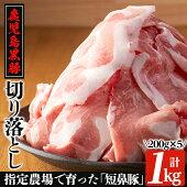 鹿児島黒豚「タンビトン」しゃぶしゃぶセット約1.8kg分