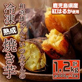 【ふるさと納税】和喜雄さんといつみさんの「冷凍焼き芋」約1.2kg_iio-485