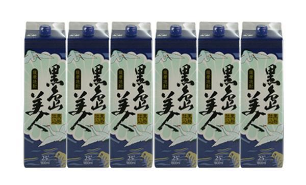 【ふるさと納税】黒島美人1800ml紙パック6本セット