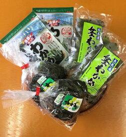 【ふるさと納税】菊栄丸の手作り湯通し塩蔵わかめセット_kiku-234