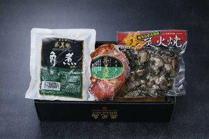 【ふるさと納税】鹿児島産 鶏炭火焼・茶美豚ローストポーク・角煮セット_ja-428