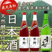 【鹿児島初湧水町日本酒セット】幸寿1本朱粋2本セット