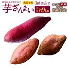 【ふるさと納税】鹿児島県産東串良の芋ざんまい3種詰合せ(先行予約)さつまいもサツマイモ安納芋焼芋ヤキイモ国産九州産芋いも送料無料