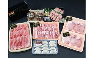 【ふるさと納税】 特選黒豚バラエティセット (約1.6kg) ・ 黒豚焼豚 2個 付き 送料 無料