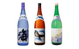 【ふるさと納税】大海酒造(海・くじら・一番雫)3本セット