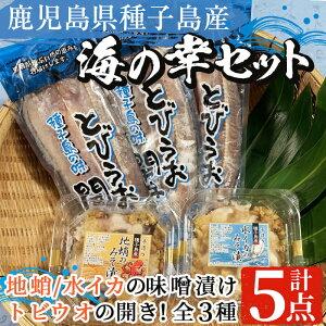 【ふるさと納税】おつまみに最適!クルマエビの味噌漬け(300g×2パック)種子島産の活きのいいクルマエビをボイルして麦味噌漬けに♪【八千代】