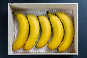 【ふるさと納税】BM‐1 奄美バナナ紙箱入り5本セット