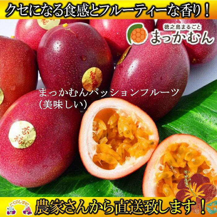 【ふるさと納税】徳之島のまっかむん(美味しい)パッションフルーツ