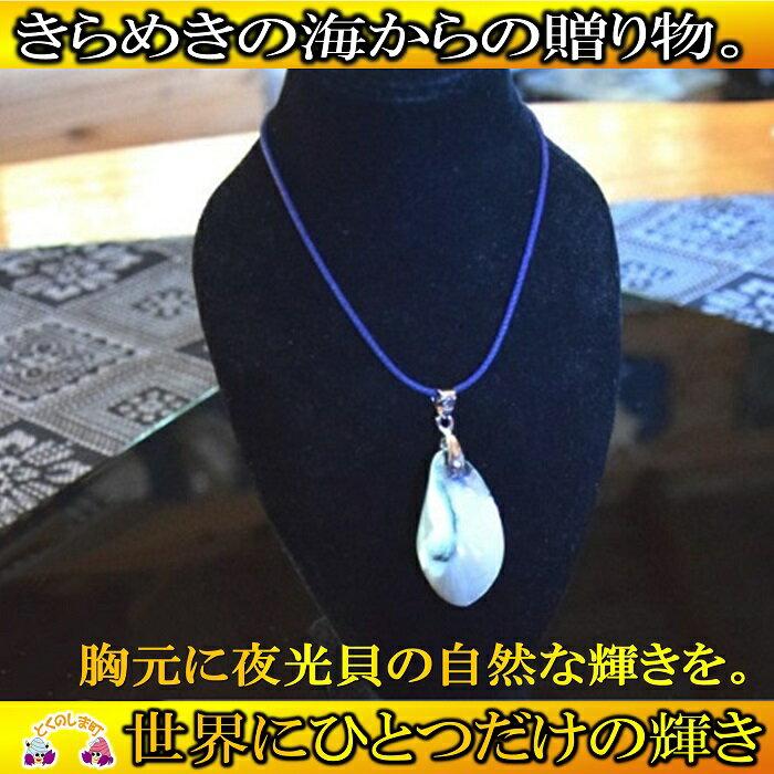 【ふるさと納税】〜きらめきの島の宝物〜夜光貝ネックレス