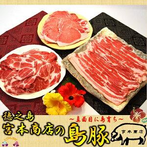 【ふるさと納税】〜真面目に島育ち〜島豚焼肉セット(3kg)