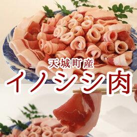 【ふるさと納税】天城町産イノシシ肉ローススライス800g