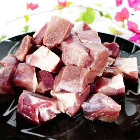 【鹿児島県徳之島】イノシシモモ肉(サイコロカット)1kg
