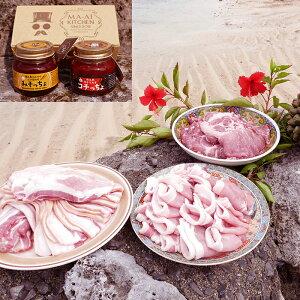 【ふるさと納税】【鹿児島徳之島】 島豚焼肉&みそっちょ・コチっちょセット〜